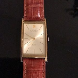 Accessories - Romanson gold plated watch